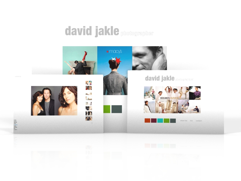 <strong>David Jakle:</strong> webdesign, rapidweaver